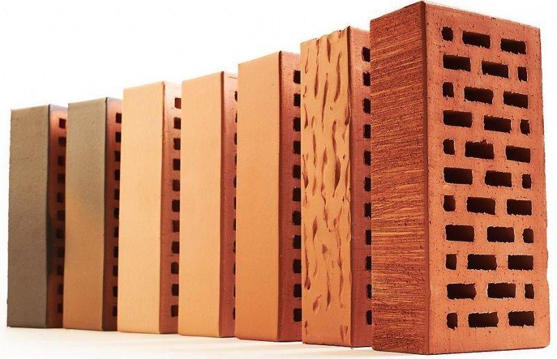 Керамический кирпич с полнотелой структурой