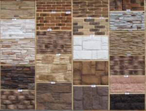 Разновидности плитки под камень