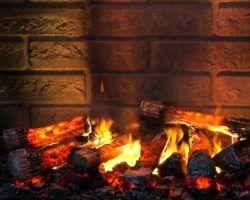 Эффект живого пламени