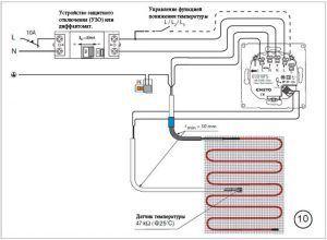 Эксплуатация нагревательного мата Warmstad