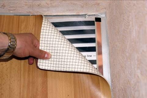 Электрический теплый пол под линолеум: виды, варианты устройства своими руками и пошаговый монтаж