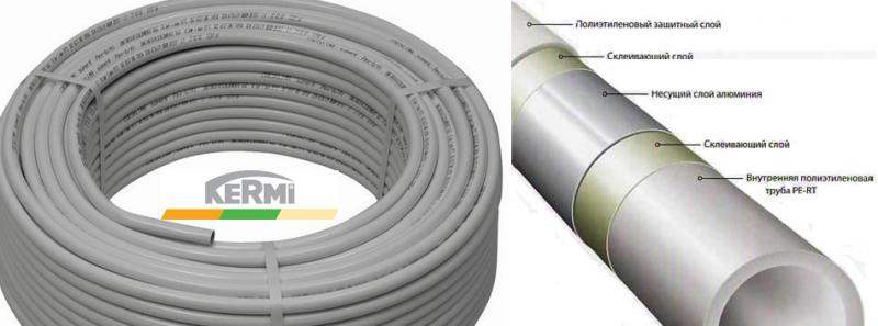 Металлопластиковая труба для водяного пола