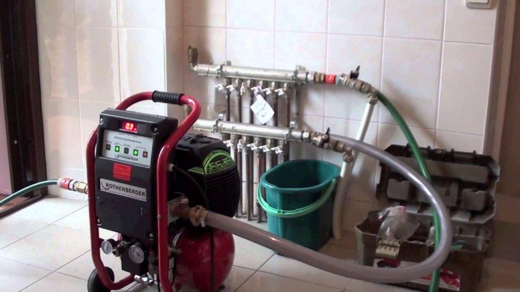 Опрессовка теплого водяного пола