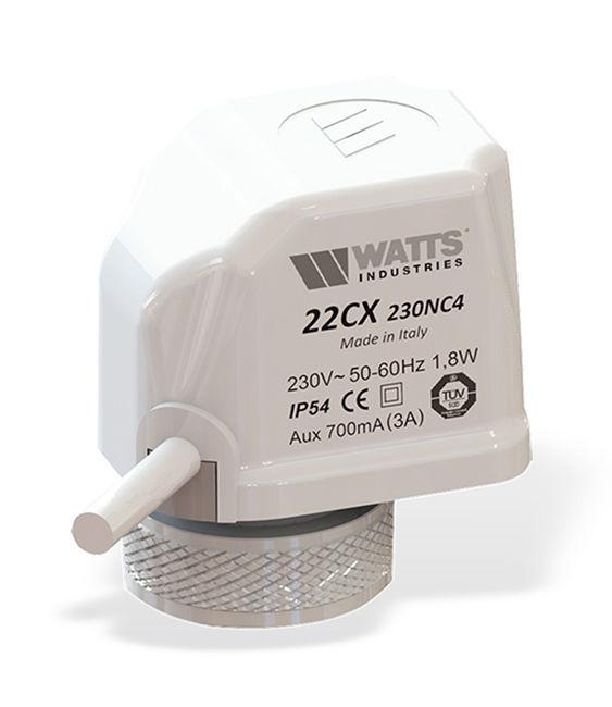 Сервопривод Watts 22CX нормально закрытый 220В