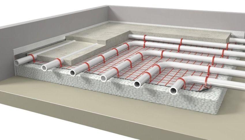 Использование труб PERT при обустройстве водяного теплого пола