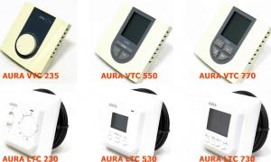Терморегуляторы Aura