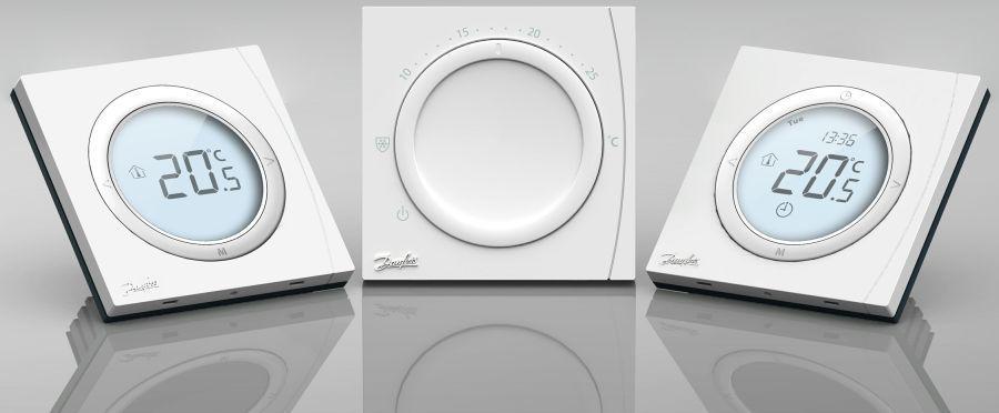 Терморегуляторы Danfoss DEVI