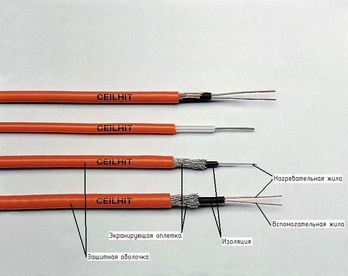 Типы электрического теплого пола