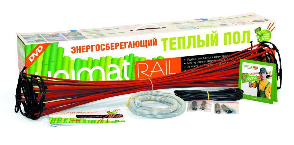 Тёплый пол Unimat RAIL