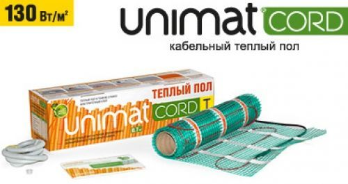 Энергосберегающий теплый пол UNIMAT