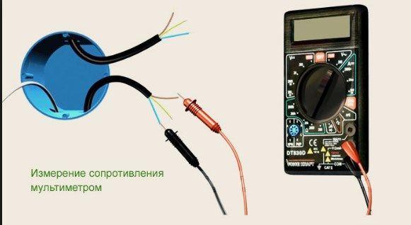 Измерение сопротивления кабелей электрического теплого пола