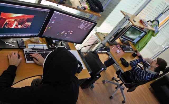 Спецэффекты делают с помощью специальных компьютеров