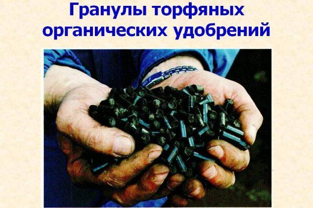 Торфяные пеллеты