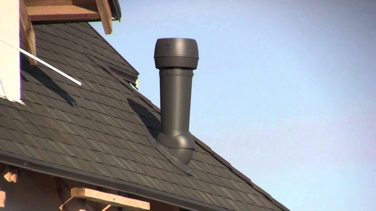 Какая нужна вентиляция на крышу дома