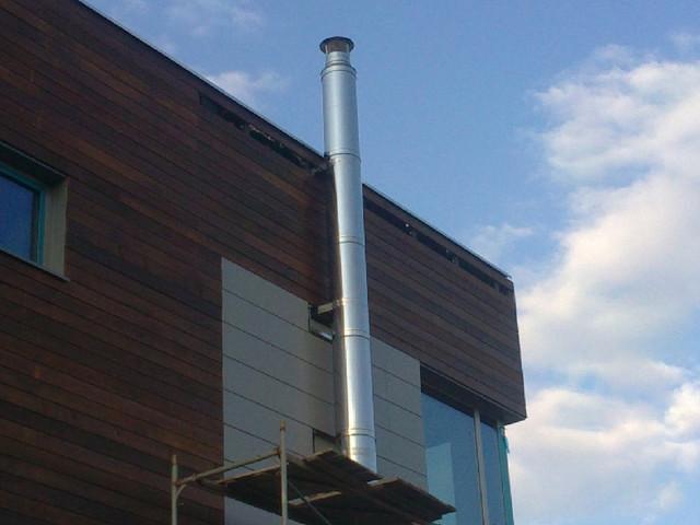 Как соединять трубы дымохода из нержавеющей стали