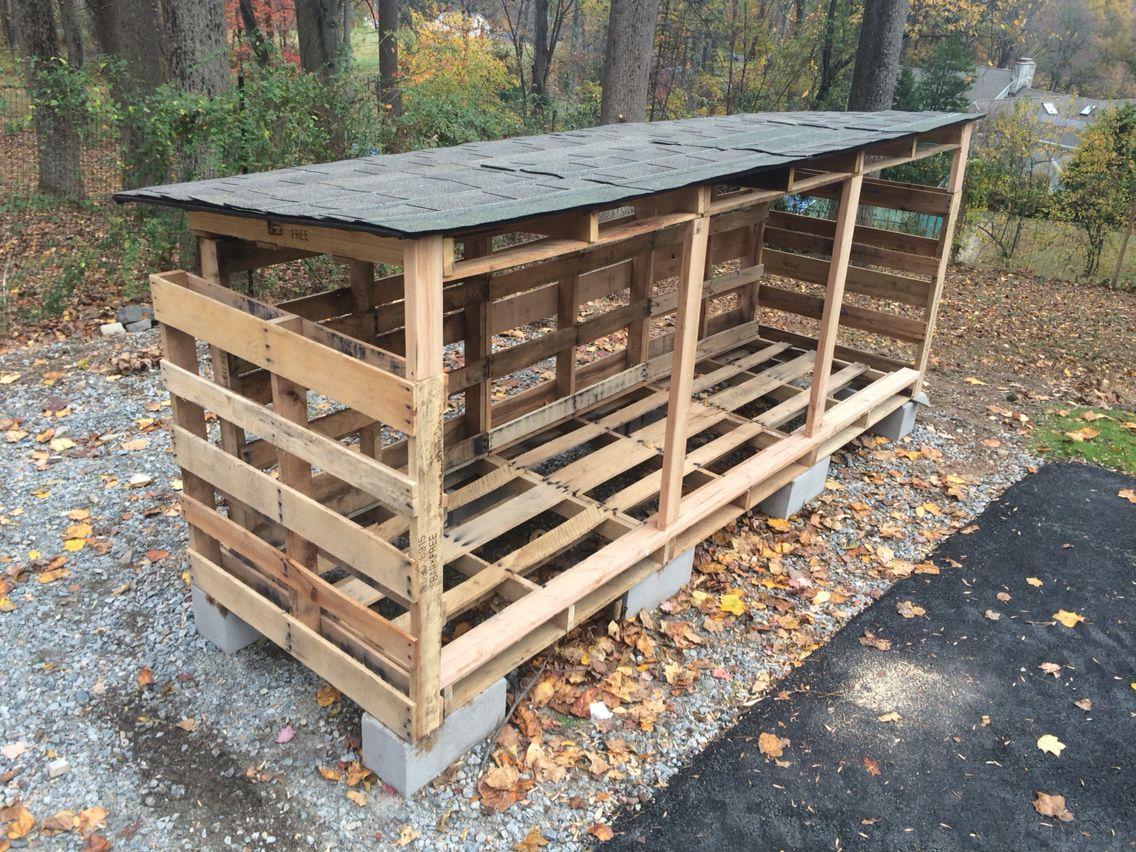 Пошаговая инструкция как построить дровяник собственноручно