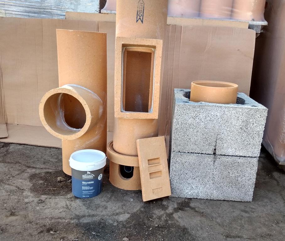 Специфика монтажа дымового канала из керамики