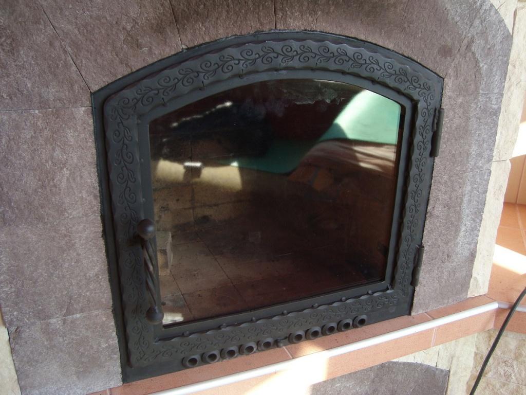 Каминная дверца со стеклом своими руками
