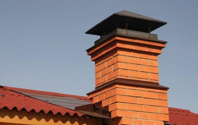 Установка дымохода на твердотопливный котел